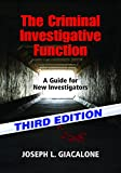 img - for The Criminal Investigative Function - 3rd Ed book / textbook / text book