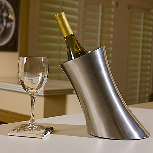 Personalized Stainless Steel Wine Chiller by Center Gifts (Image #4)