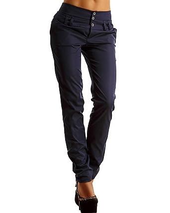 Minetom Femme Casual Taille Haute Minces Slim Jambières Crayon Pantalon  Skinny Élastique Leggings Jeggings à Plis Marquése Pants  Amazon.fr   Vêtements et ... 63c0a983cde