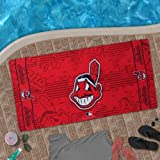 MLB McArthur Cleveland Indians Beach Towel - Red