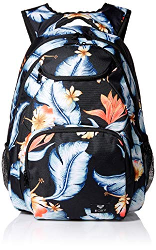 Roxy Women's Shadow Swell Backpack, anthracite tropical love sample 1SZ (Backpack Laptop Roxy)