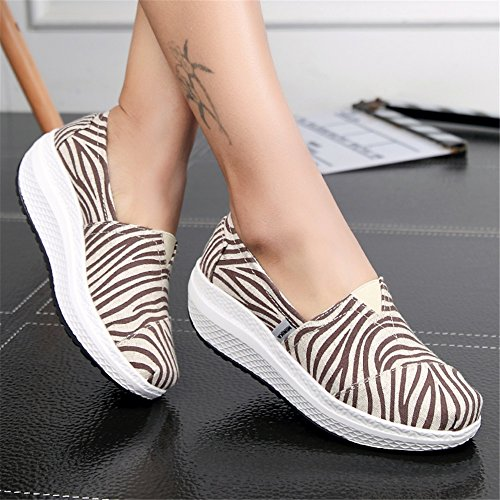 Sneakers Mocassini Guida Slip guida Scarpe Da Xue Fitness travel B Donna Loafers Primavera E Shoes Athletic Maglie Shaking Platform Flat Shake Autunno Casual YnTvqgqCxw