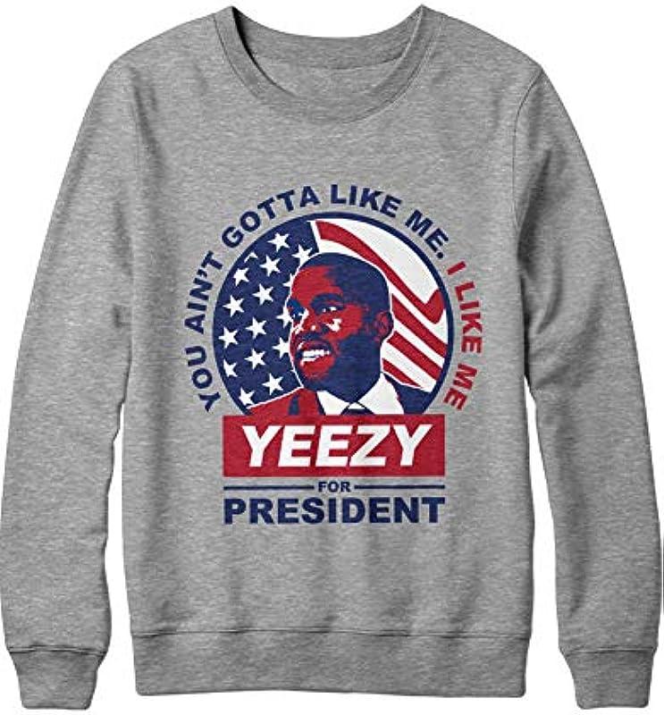 HYPSHRT Męskie Sweatshirt Yeeza for President D000011: Odzież