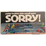 Sorry 1972 Edition Vintage Board Game