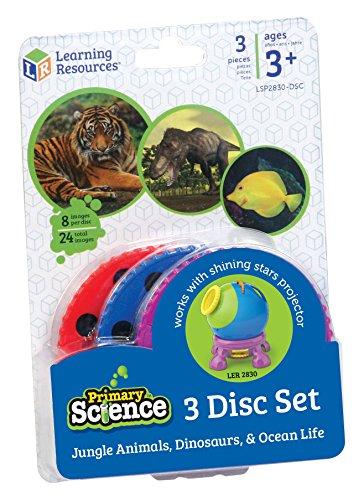 Learning Resources Jungle Animals, Dinosaurs and Ocean Life Three Disc Set ()
