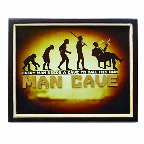 RAM Gameroom Products Wall Sign, - man cave home wall art decor