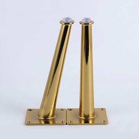 Amazon.com: Ewead, 4 patas doradas para muebles de mesa, con ...