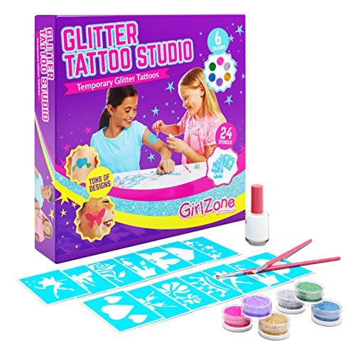 GirlZone Temporary Glitter Tattoos