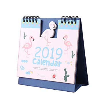 Calendario de Mesa 2019 con Calendario y Calendario: Amazon.es ...