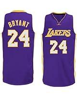 Mens Kobe Bryant #24 Los Angeles Lakers Road Jersey