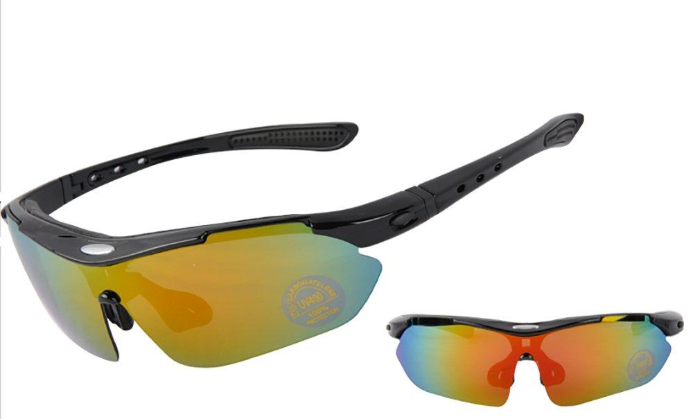 Outdoor Sports de lunettes de soleil polarisées Lunettes de soleil Peut être installé avec sable myopie Lunettes de cyclisme Course à Pied Marche Vélo Conduite Pêche Ski randonnée Golf Lunettes de bas ARMhHRz