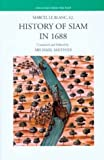 img - for History of Siam in 1688 (Treasures from the Past) by S. J. Marcel Le Blanc (2003-12-01) book / textbook / text book