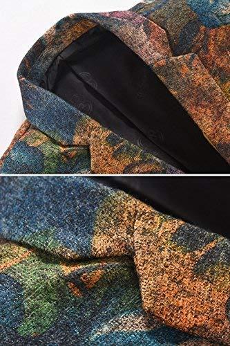 Patterned Marche lannister Blazer Uomini Slim Heavyweight Qk Stampato Da Mehrfarbig Vestito Svago Eleganti Sposa Uomo Abbigliamento Fit ctAqYdffw