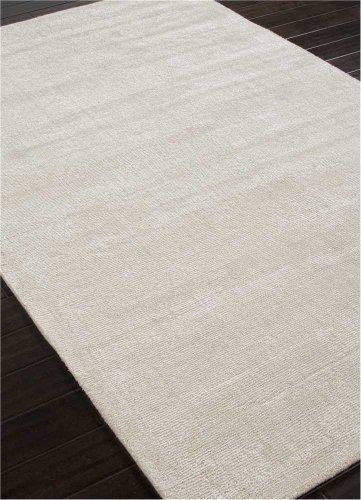 India Silk Rugs - Jaipur Living Kelle Handloom Solid White Area Rug (5' X 8')