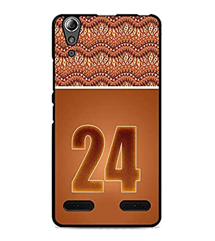 PrintDhaba Numerology Number 24 D-3659 Back Case Cover