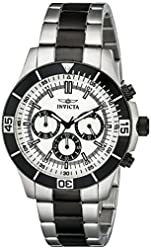 Invicta Watches Mens Specialty Chronograph Two-Tone Bracelet Watch