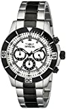 Invicta Men's 12843 Specialty Chronograph Silver Dial Watch