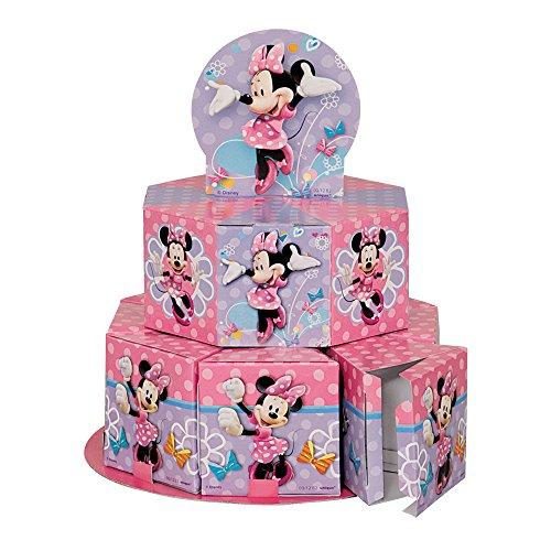 Minnie Mouse Favor Box Centerpiece Decoration for 8 -