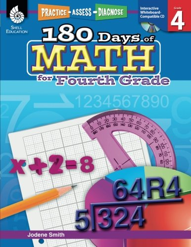 180 Days of Math for 4th Grade  Fourth Grade Math Workbook for Children Ages 810 Created by Teachers to Help Kids Master Challenging Math Concepts with 180 Pages of Fun Daily Practice Activities