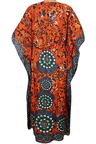 Interior Mogul Kimono Orange Orange Kleid Orange Einheitsgröße Damen dFFwrqB