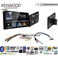 Volunteer Audio Kenwood DDX9904S Double Din Radio Install Kit with Apple CarPlay Android Auto Bluetooth Fits 2007-2011 Nissan Versa