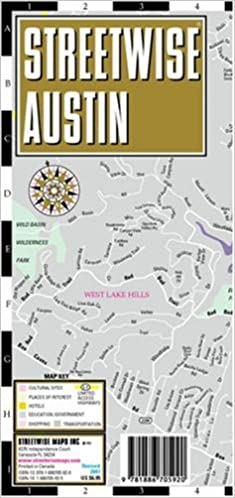 Streetwise austin map laminated city center street map of austin streetwise austin map laminated city center street map of austin texas folding pocket size travel map streetwise maps 9781886705920 amazon sciox Gallery
