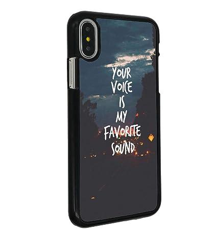 Amazoncom Iphone X Caseboslive Love Quotes Your Voke Is My