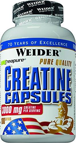 Weider Pure Creatine, Neutral, 100 Kapseln (1 x 127 g)