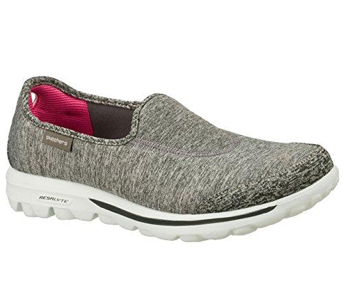 Skechers Women's GOwalk Lead Walking Shoe Grey 7.5 W US