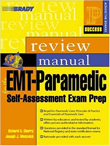 Emt paramedic self assessment exam prep review manual prentice emt paramedic self assessment exam prep review manual prentice hall success series 9780131128699 medicine health science books amazon fandeluxe Images