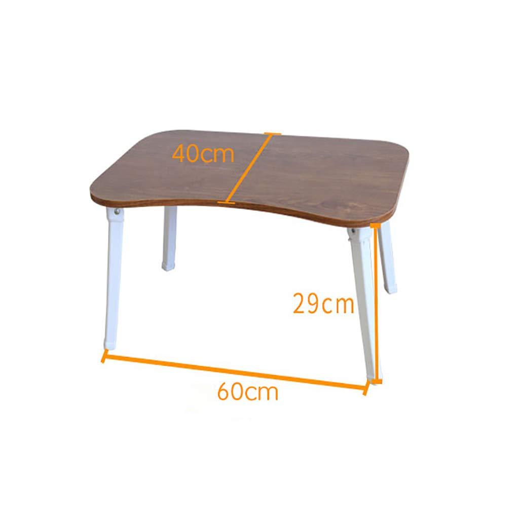 HQCC Lazy Pieghevole scrivania Semplice scrivania Portatile Semplice scrivania Economica (colore   A)
