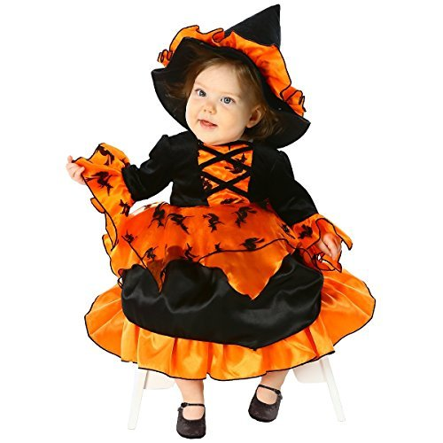 Amelia Witch Toddler Costume - Newborn Small