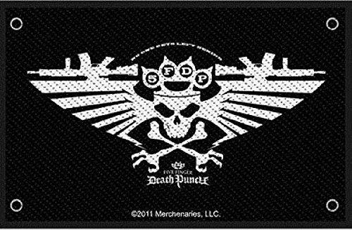 Five Finger Death Punch Wings Of War Official Patch (10cm x 7cm)