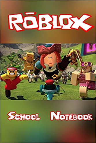 Roblox School Notebook Over 100 Pages For You To Record All Of Your
