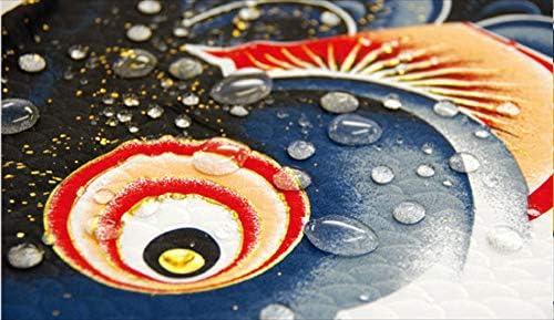 徳永こいのぼり 風舞い 1.2m 鯉3匹 スーパーロイヤルセット コンクリートベランダ用 121-202 名入れ・家紋入れ別売