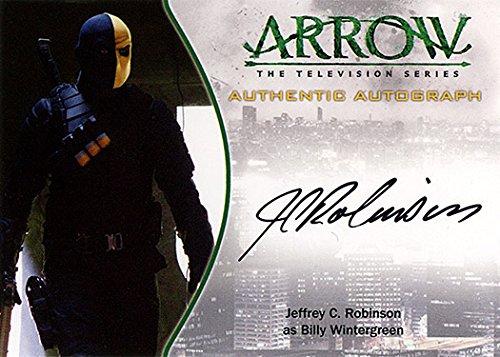 Arrow Season 1 Autograph A23: Jeffrey C. Robinson as Billy Wintergreen - Cryptozoic (Signed Trading Card)