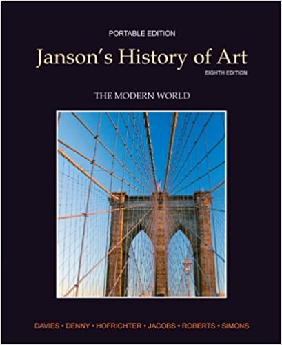 jansons history of art the modern world portable edition book 4 8th edition