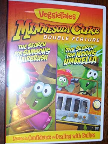 Veggie Tales Minnesota Cuke Double Feature The Search for Samson's Hairbrush & The Search for Noah's (Veggie Tales Hairbrush)