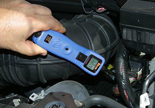 POWER PROBE III W/ Case & Acc - Blue (PP319FTCBLU) [Car Automotive Diagnostic Test Tool Power Up Electrical Components Digital Volt Meter ACDC Current Resistance Circuit Tester LCD Screen Flashlight Short Circuit Indicator Audible Tone] by Power Probe (Image #2)