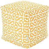 Majestic Home Goods Aruba Cube, Small, Citrus