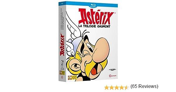 Astérix - La trilogie Gaumont - Astérix et la surprise de César + Astérix chez les Bretons + Astérix et le coup du menhir Francia Blu-ray: Amazon.es: Paul Brizzi, Gaëtan Brizzi, Pino