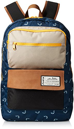 KAVU Railslide Backpack, Fly Fish, One Size