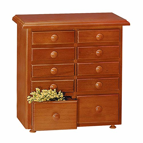 Spice Racks Heirloom Pine, 10 Drawer Spice Chest ONLY