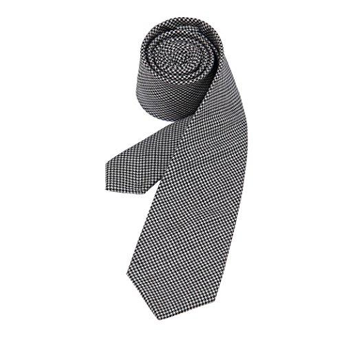 MA 100% Wool Elegant Mens Wool Handmade Woven Wool Men's Necktie (Maxmara2)