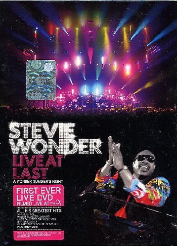 Stevie Wonder: Live at Last (Dvd Stevie Wonder)
