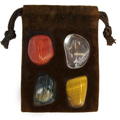 Gemstone Zodiac Kit Crystal Healing Set   Capricorn