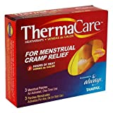 ThermaCare Air-Activated Menstrual HeatPatches, 3-Count Boxes (Pack of 3)