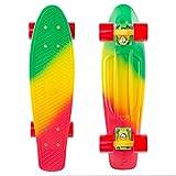Penny Skateboards Standard Spike Orange Skateboard, Multicolor