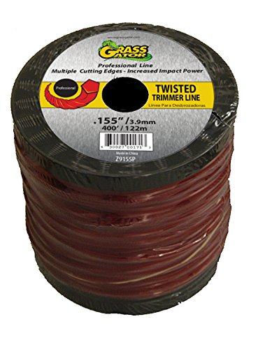 Grass Gator Z9155P 3-Pound Twisted Zip Line Spool (Zip Twisted)