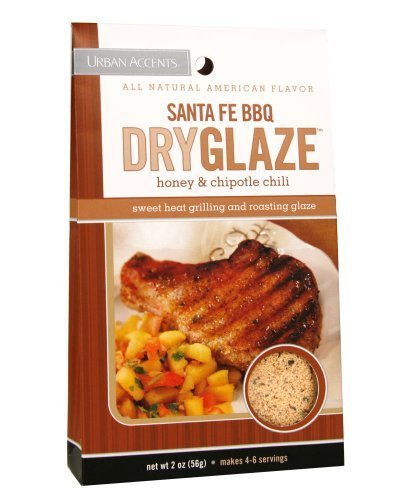 - Urban Accents Santa Fe BBQ Grilling and Roasting Dryglaze, 2.0-Ounce Packages (Pack of 6) by Urban Accents